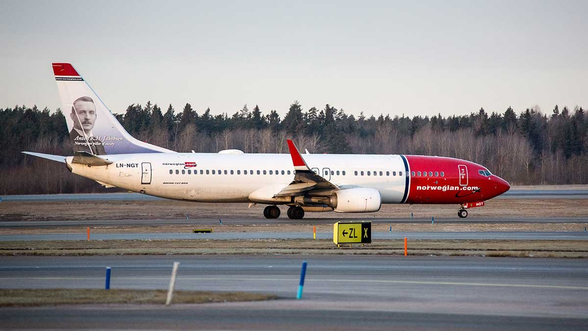 norwegian direktflyg usa